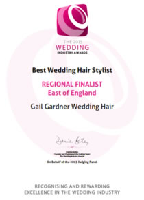 2015 Essex Wedding Awards Regional Finalist- Hair and Makeup