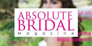 As Featured In The Absolute Bridal Magazine, Essex Wedding Hair And Makeup Section.